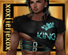 [L] KING Teal Top M