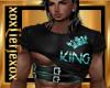 [L] KING Teal Top M
