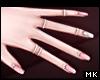 金. Diamond Nails