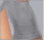 rll. {fente} White skirt