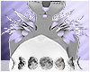 ☆ Iris Shoulder Tufts
