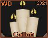 W! Bøf I Crown candles