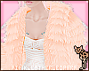 [PLL] Fur Jacket - Peach