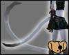 Albino Ferret Tail
