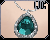 [luc] Necklace S Aqua