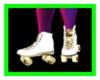 W/Gold Neon Skates