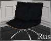 Rus Black Modern Chair