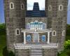 Teal Wedding Castle