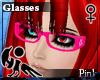 [Hie] Pink glasses