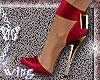 Heels . red