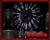 USA Heart Fireworks