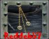 Gold Skull Hip Chain