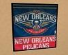 N.O. Pelicans Banner