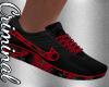 Matrix Red Shoes