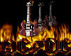 Posters AcDc Guitars
