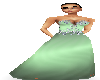 ~MDF~ green evening gown