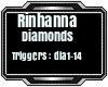 Rinhanna - Daimonds