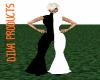 PF black/white bodysuit