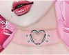 永- Plastic Choker Pink