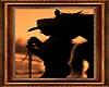 Sunset Cowgirl Art Paint