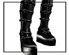 Vinyl Petals Boots