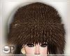 Fancy Brown Fur Hat