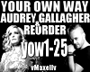 REORDER - Your Own Way