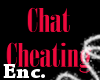Enc. Chat Cheating Sign