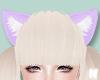 ❥ Lilac Cat Ears