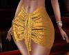 Disco Gold Skirt