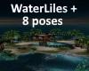 [BD]WaterLilies+8Poses