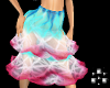 Pink and blue skirt