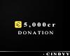 [ 5K Donation Sticker