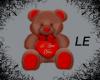 Brown Valentine Bear