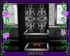 Silver Scroll Fireplace