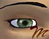 natural green eyes