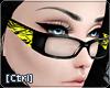 |C| Glasses Zebra Yellow