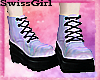 SG Pastel Goth Boots