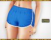 ! Blue Runner Shorts