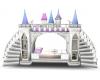 unicorn castle bunk bed