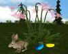 Easter Bunny & Flower