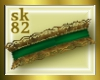 {sk82}Green &Gold Collar