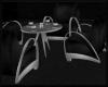 Retro Club Table Black