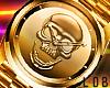 SKULL Watch   Gold