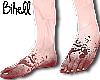 👣 Blood Feet