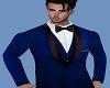 Royal,Blue,Suit,Outfit