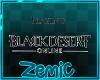 Z; Black Desert Sign