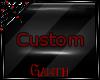 *G* Custom Sticker