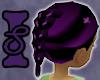 Purple & Black Braid