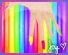 Kawaii! Rainbow Nails